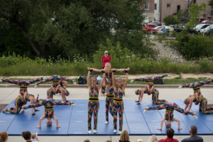2018 West Bend Dance Tumbling Troupe Museum of Wisconsin Art