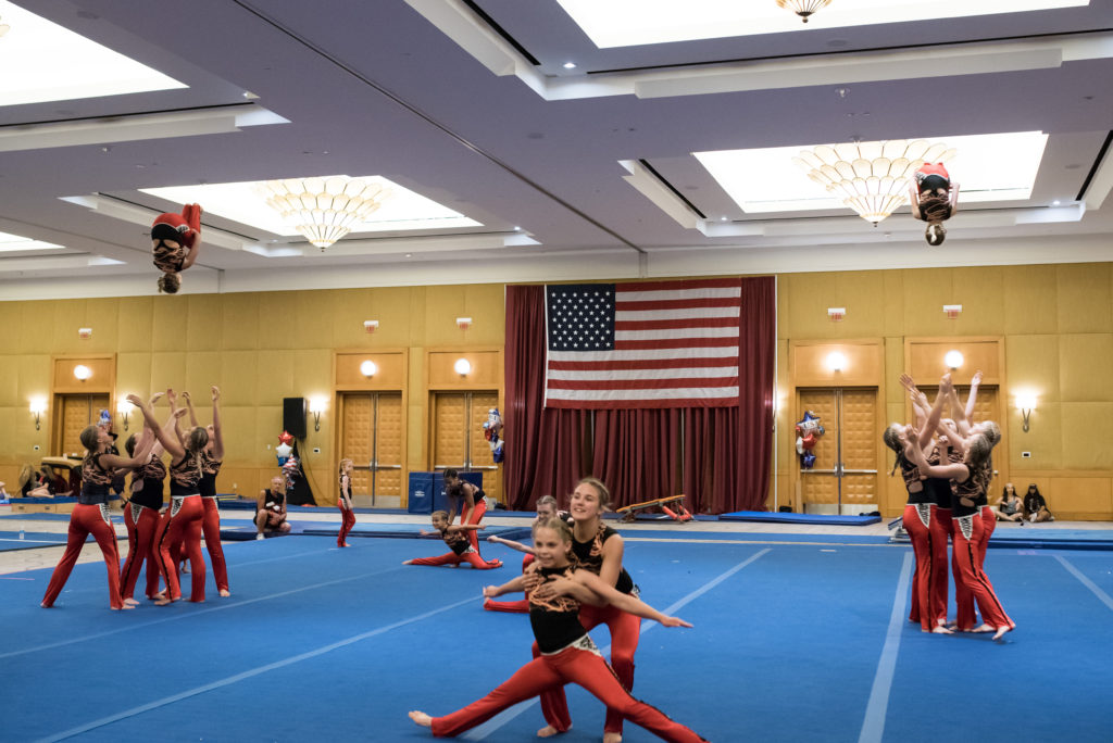 West Bend Dance Tumbling Troupe USA Gymnastics GymFest Best In Show