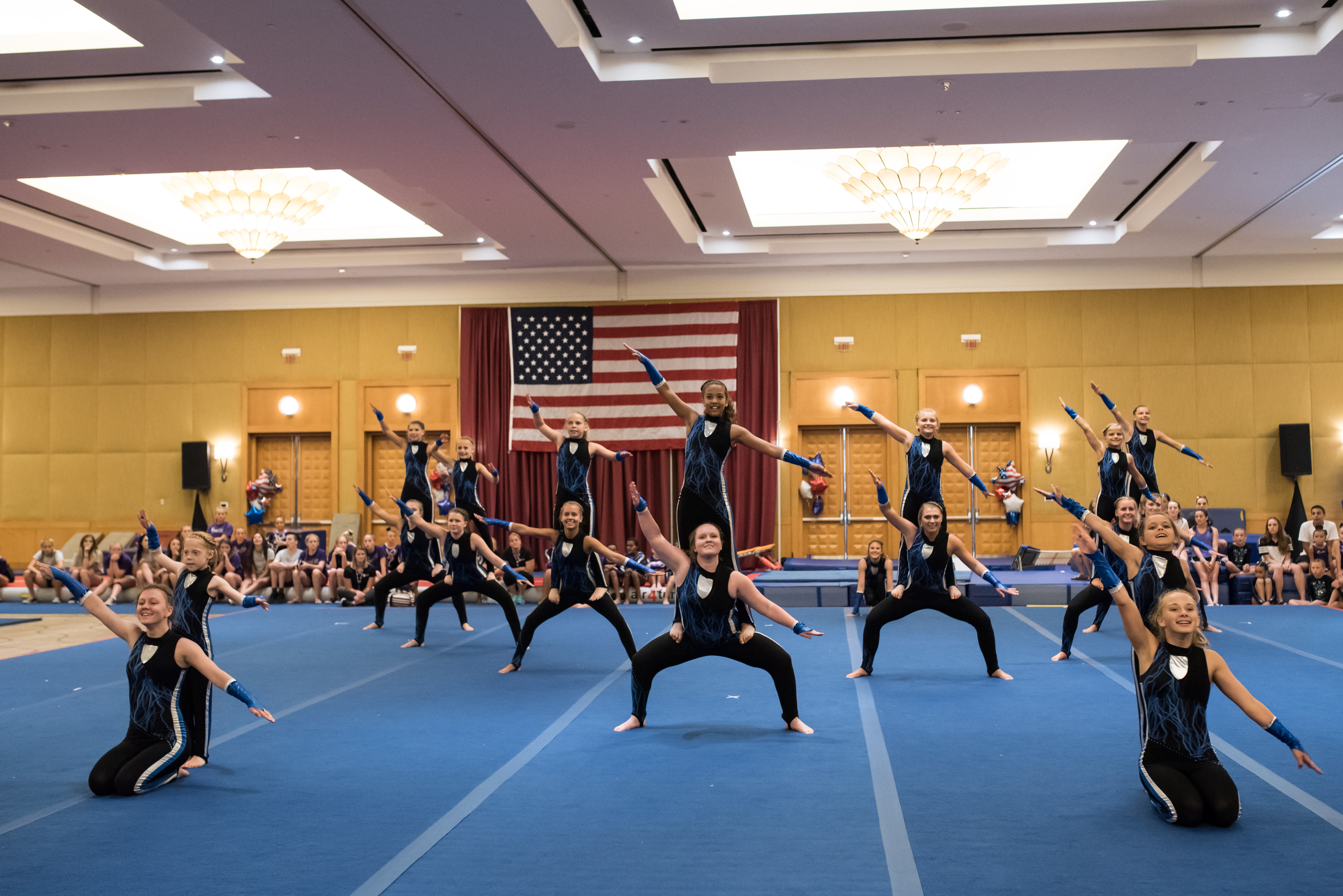 West Bend Dance Tumbling Troupe USA Gymnastics GymFest