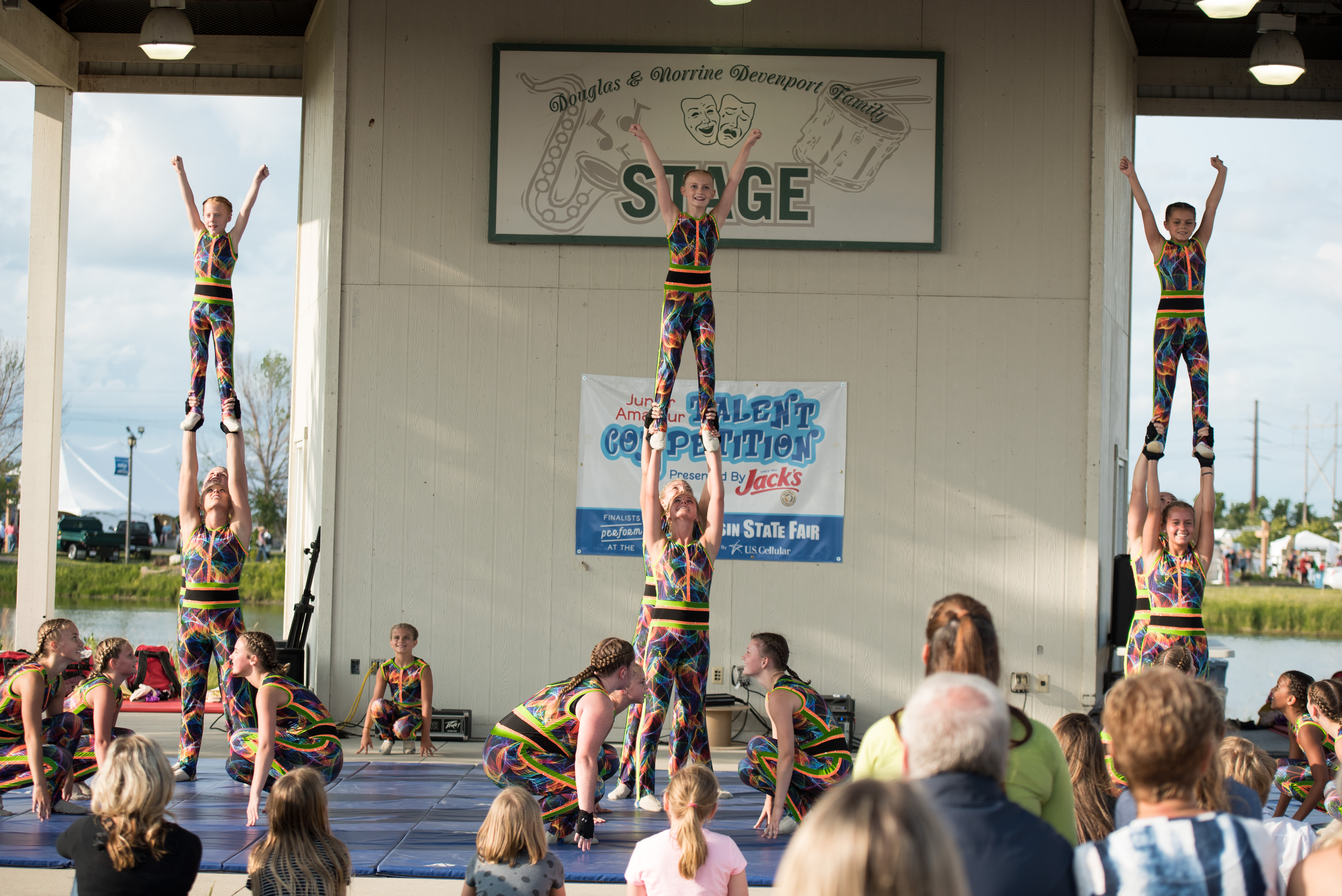2018 West Bend Dance Tumbling Troupe Washington County Fair